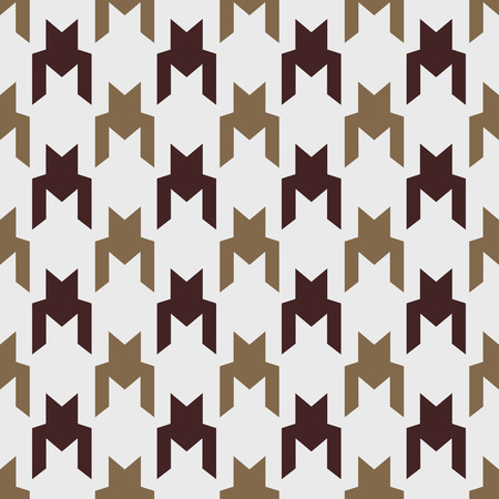 Houndstooth seamless pattern, monochrome. Can be used for wallpaper, pattern fills, web page background,surface textures eps 10