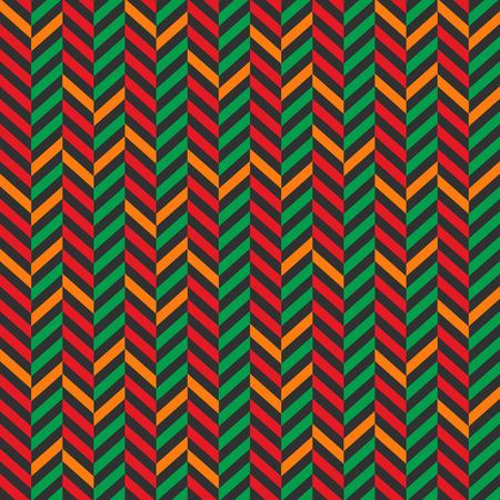 Vintage christmas colorful seamless pattern vector design Standard-Bild - 127256585