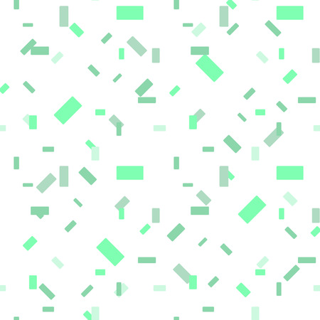 Light Green vector seamless texture in rectangular style. gradient illustration with rectangles. background with many falling tiny confetti pieces. For banners, wallpapers, postcards, business eps10 Illustration