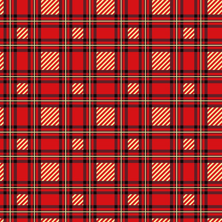 seamless pattern with plaid background. Vector template.
