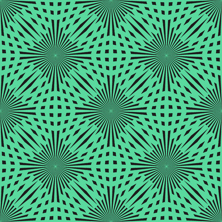 Vector green circle seamless pattern. Modern stylish texture. Repeating abstract background. eps 10 Standard-Bild - 127041458