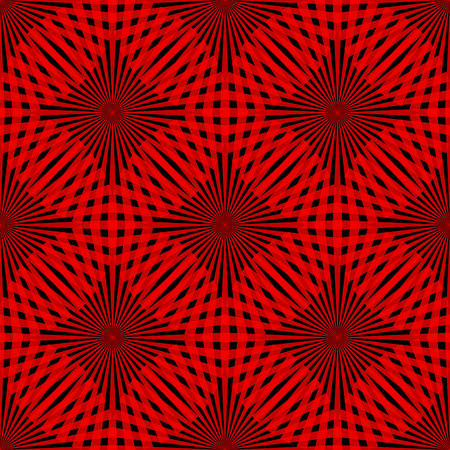 Vector red circle seamless pattern. Modern stylish texture. Repeating abstract background. eps 10 Standard-Bild - 127041459