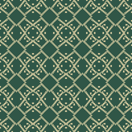 Wool turquoise color texture background. Seamless knitted background. Illustration for design, backgrounds, wallpaper. Vector illustration. eps10 Standard-Bild - 126910190