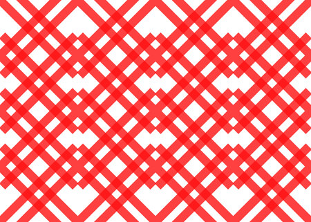 Red stripes on white background. Striped diagonal pattern Vector illustration of Seamless background Christmas or winter theme Background with slanted lines eps10
