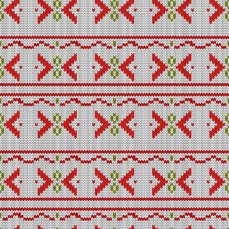 Seamless embroidered cross-stitch ornament national pattern eps 10