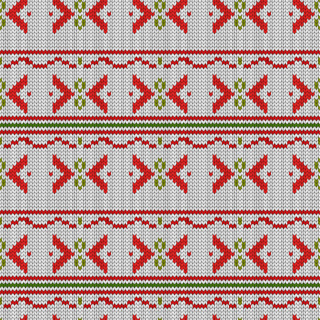 seamless embroidered cross-stitch ornament national pattern eps10