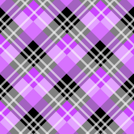 vector purple tartan plaid pattern for background eps 10