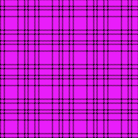 Minimal monochrome black purple seamless tartan check plaid pixel pattern for fabric designs. Gingham vichy pattern background. eps 10