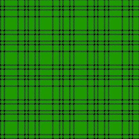 Minimal monochrome black green seamless tartan check plaid pixel pattern for fabric designs. Gingham vichy pattern background. eps 10