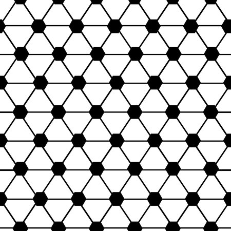 Seamless surface pattern design with quatrefoil figures. Oriental traditional ornament with Arepeated rounded shapes.