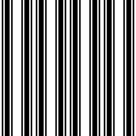 Black and White Straight Vertical Variable Width Stripes, Monochrome Lines Pattern, Vertically Seamless, Straight Parallel Vertical Lines, Fashion Geometric Monochrome Random Streaks Illustration