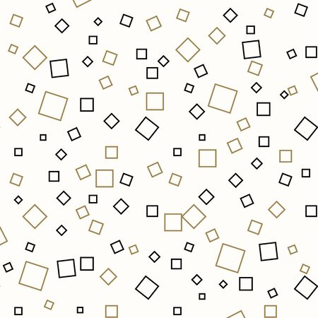 Random squares pattern. Abstract background. Geometrical simple image, illustration. Creative, luxury style. Print cloth, clothing, shirts, dress, wrap wrapper web cover label banner emblem eps10