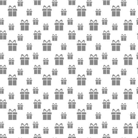 Gift boxes seamless pattern. Seamless pattern with gifts. Present Vector background.eps 10