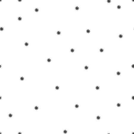 Seamless vector pattern in ornamental style. Geometric desing texture for wallpaper . Ilustração