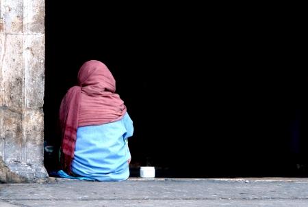 Homeless in yucatan  版權商用圖片