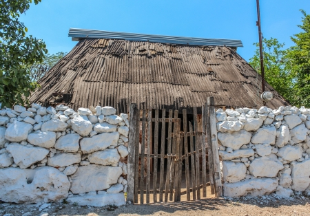 小さな町と呼ばれる、ユカタンの典型的な家庭