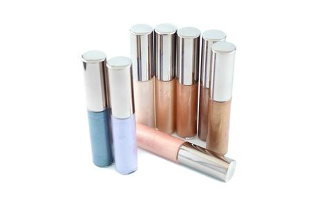 applicator: Lip gloss in various range of colors Stock Photo