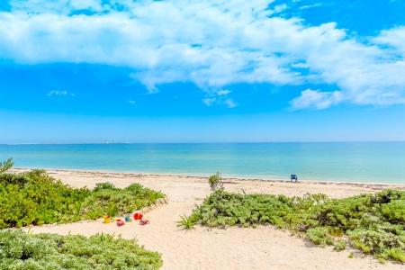 ユカタン半島ビーチ海岸の景色
