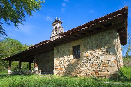 Abadiño's hermitage Stock Photo - 2942542