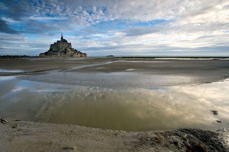Bay Le Mont St Michel, Normandy (France) photo