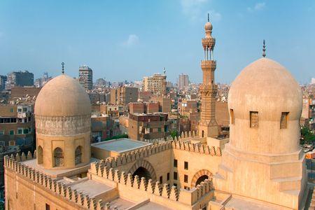 cairo: Mosque Ibn Tulun, Cairo (Egypt) Stock Photo