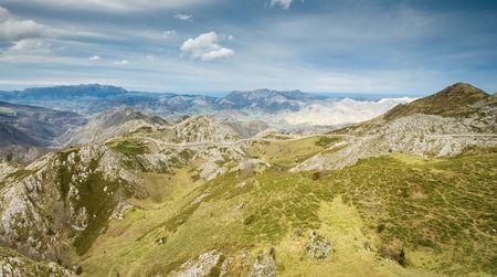 covadonga: Port to the lakes of Covadonga, Principado de Asturias (Spain)