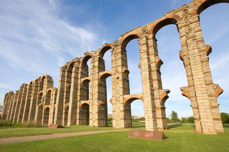 extremadura: Aqueduct of the Miracles, Merida, Extremadura (Spain)