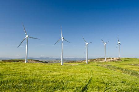 navarra: Windmills of Caparroso, Navarra (Spain)