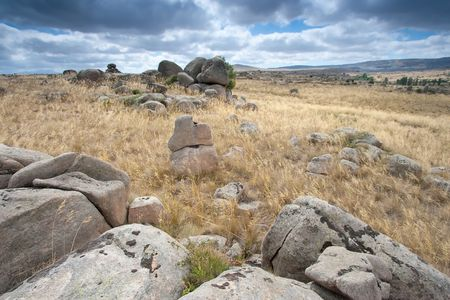 castilla: Rocks in Avila, Castilla y Leon (Spain)