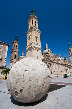 zaragoza: Square of the Pilar, Zaragoza (Spain)