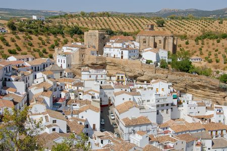 andalucia: Setenil de las bodegas, Cadiz, Andalucia (Spain)