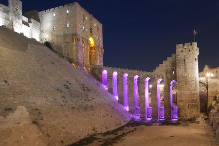ancient near east: City of Alepo, Siria Stock Photo