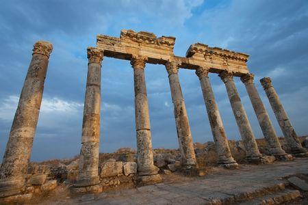 middle joint: Aphamia, Siria