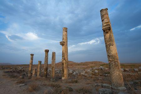 middle joint: La citt� di Aphamia, Siria Archivio Fotografico