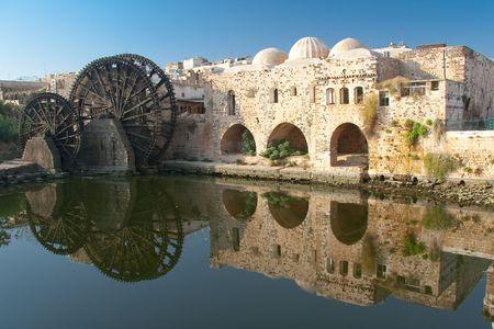 syria: Reflektieren Sie in Hama, Syrien
