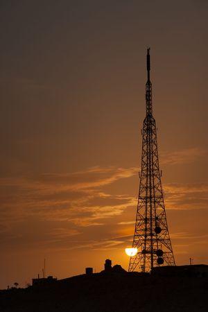 Tower of telecommunications, Palmira, Syria photo