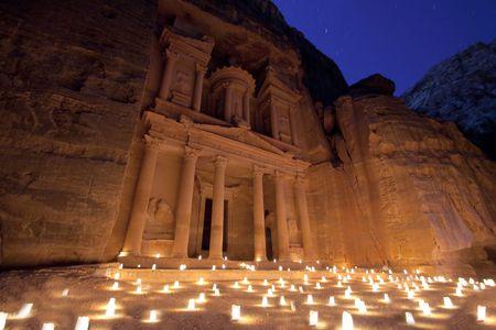 tonight: The treasure tonight, Petra, Jordan