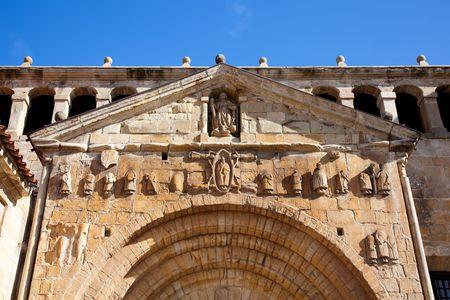 cantabria: Arch of Santillana del Mar, Cantabria, Spain Stock Photo
