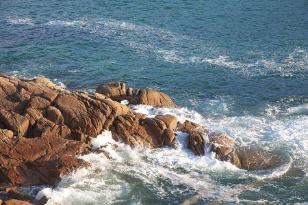 Sea in Ares, La Coruña, Galicia, Spain