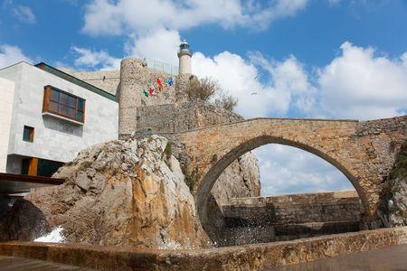 cantabria: Castro Urdiales, Cantabria, Spain Stock Photo
