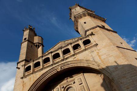 alava: Iglesia en Elciego, �lava, Espa�a