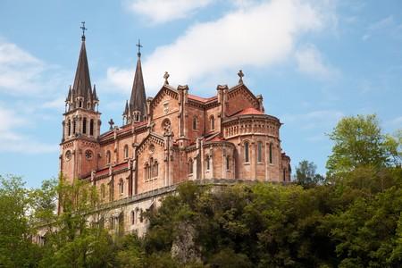 sanctuary: Covadonga sanctuary, Asturias, Spain