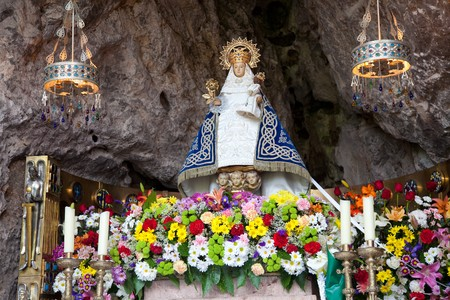 covadonga: Virgin of Covadonga, Asturias, Spain
