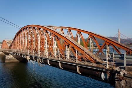 cantabria: Bridge of Colindres, Cantabria, Spain Stock Photo