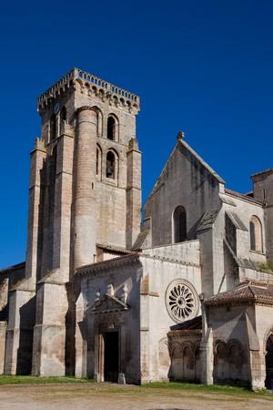 buttresses: Sanctuary of Huelgas, Burgos, Castilla y Leon, Spain