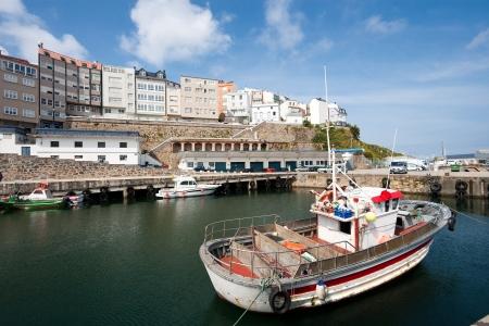 la: Port of Malpica, La Coru�a, Galicia, Spain Stock Photo