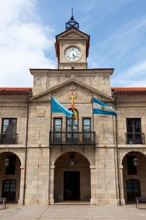 aviles: Council of Aviles, Asturias, Spain Stock Photo