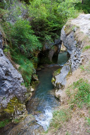 boroughs: Natural park of Valderejo, Alava, Spain