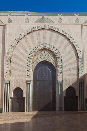 Hassan II mosque, Casablanca, Morocco photo