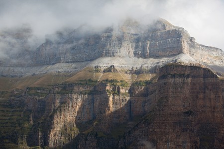 perdido: Tozal of Mallo, Ordesa national park, Huesca, Spain Stock Photo